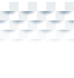 White geometric texture clean paper background vector