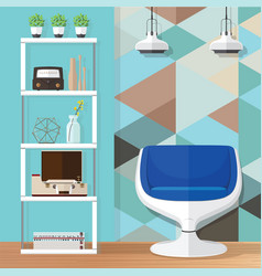 Room decorating ideas vector