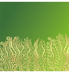 Nature pattern background spring vector image
