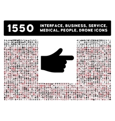 Index icon and more interface business tools vector