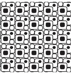 Geometric shapes pattern set minimalist Memphis vector image vector image