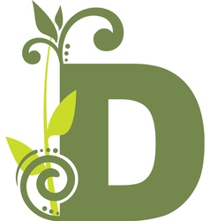 nature D vector image vector image
