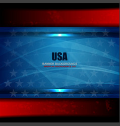 usa color texture background vector image vector image