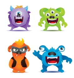 Monster set vector