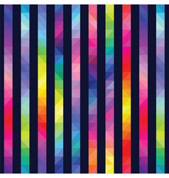 Strips from color triangles against a dark vector