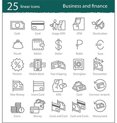banking electronic commerce finance and business vector image
