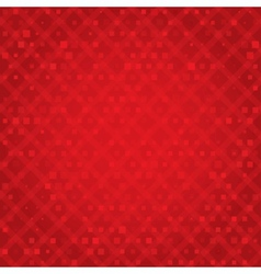 Christmas background with squares snowflakes vector image