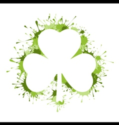 St Patrick Day frame vector image vector image