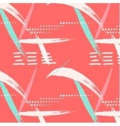 Abstract summer geometric endless pattern Dots vector image