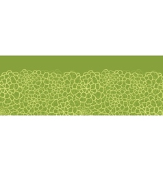 Abstract green natural texture horizontal seamless vector