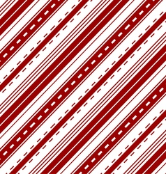 Red stripes seamless pattern background vector