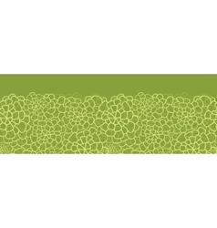 Abstract green natural texture horizontal seamless vector image vector image