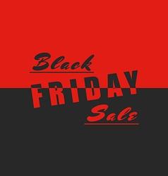 Black friday sale poster mockup design element vector image