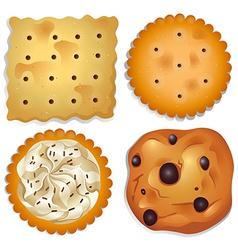 Delectable cookies vector