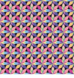 seamless pattern consists vector image