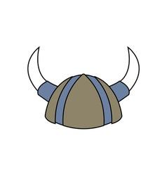 Viking-Helmet-380x400 vector image