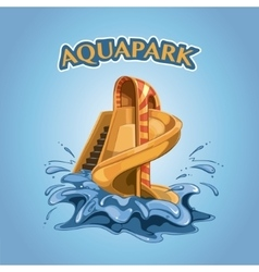 Aquapark vector