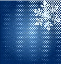 abstract snowflakes design vector image