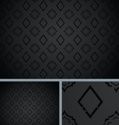 Black vintage poker diamond distressed background vector