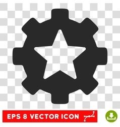 Favorites options gear eps icon vector