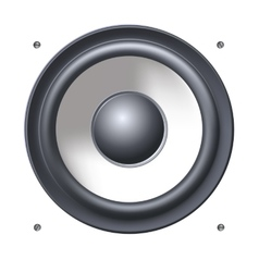 Sound speakers dynamics vector image