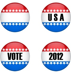 USA vote vector image vector image