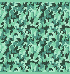 Seamless military camouflage pattern seamless vector