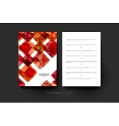 Abstract background brochure template vector
