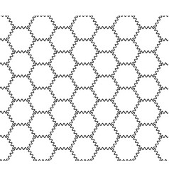 Abstract hexagonal geometry pattern vector