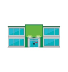 Store market shop building icon graphic vector