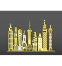 Modern cityscape vector