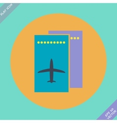 Airfare icon - vector