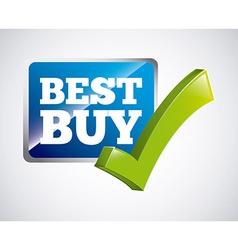 best buy vector image vector image