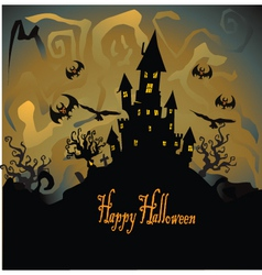 happy halloween vector image vector image