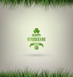 Saint Patricks Day Background vector image vector image