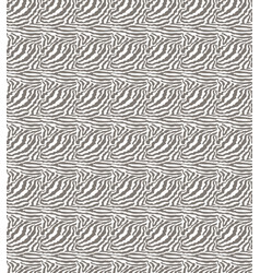 Seamless geometric texture white zebra patterned vector
