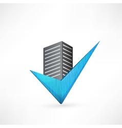 Buildings design vector image vector image