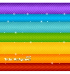 Colorful arrow background vector image vector image
