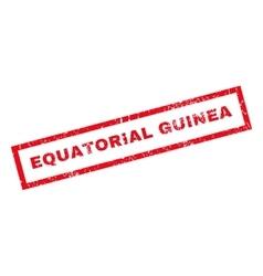 Equatorial guinea rubber stamp vector