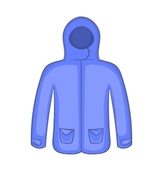Hoodie sweater icon cartoon style vector image
