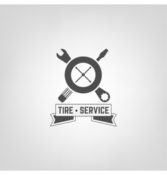 Tires shop logo007 a vector
