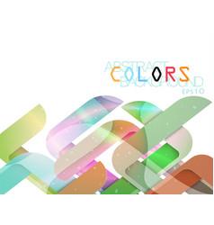 Transparent shape colors vector
