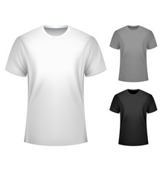 Men t-shirt template vector