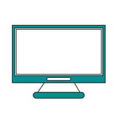 Monitor flat vector