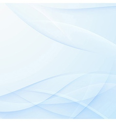 Abstract satin swooshes lines background vector