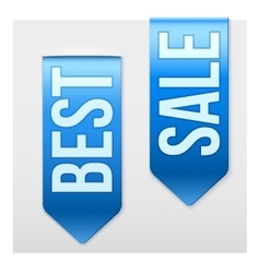 Set of popular ribbons best and sale realistic vector