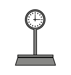 Balance scale measure weight vector