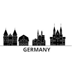 germany architecture city skyline travel vector image
