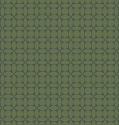 Green abstract geometric circles tile seamless vector