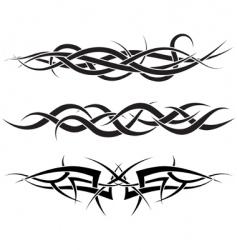 tattoos set vector image